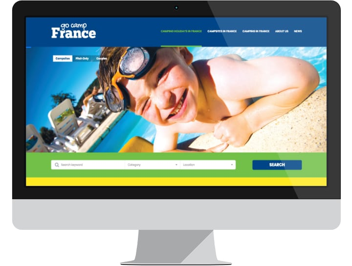 Advertise your French campsite on Go Camp France