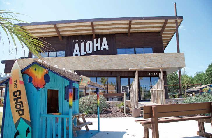 Aloha Village Parc Reception