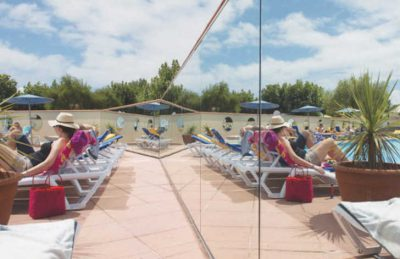 Bel Campsite Pool Loungers