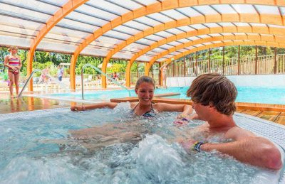 Campeole la Pinede Covered Swimming Pool
