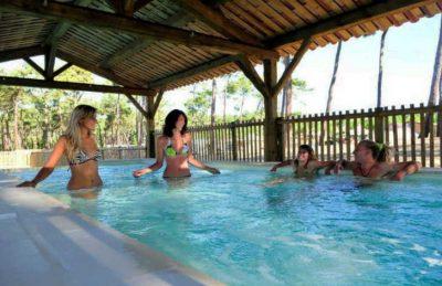 Campeole les Tourterelles Covered Pool