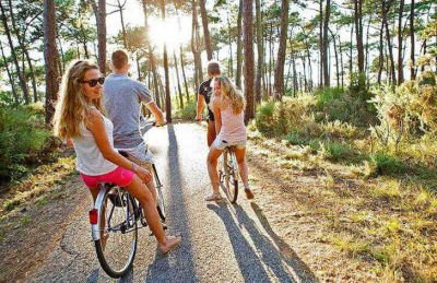 Campeole Medoc Plage Pitch Only Cycle Ride