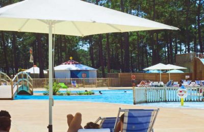 Campeole Medoc Plage Pitch Only Pool Parisol