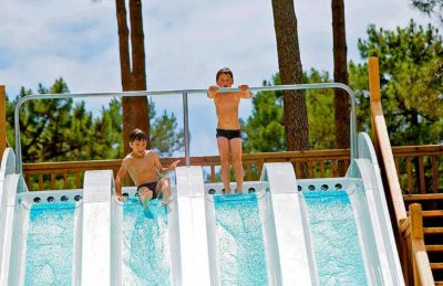 Campeole Medoc Plage Pitch Only Pool Slides