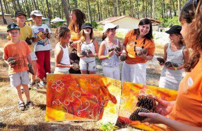 Campeole Plage Sud Children's Activities