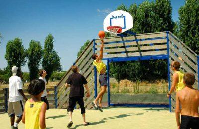 Camping Airotel Oleron Basketball