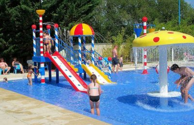 Camping Amiaux Toddlers Splash Park