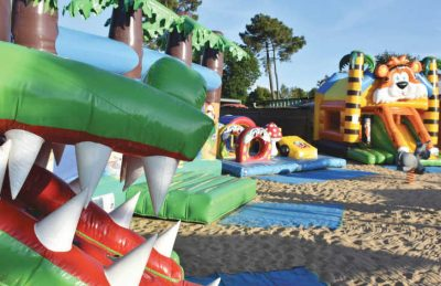 Camping Atlantique Parc Play Area Inflatables