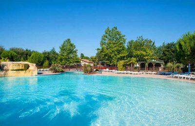 Camping Aurilandes Pool