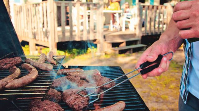 Camping Barbecue Safety