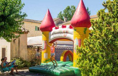 Camping Chateau de Boisson Children's Inflatables
