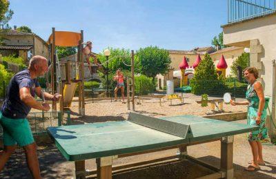 Camping Chateau de Boisson Table Tennis