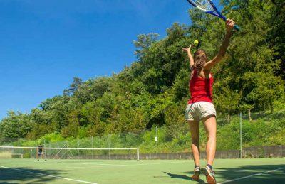 Camping Chateau de Boisson Tennis