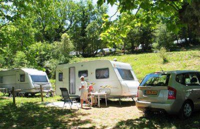 Camping Chateau de l'Eouviere Caravan Pitch