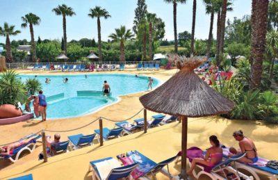 Camping Club l'Air Marin Swimming Pool Complex