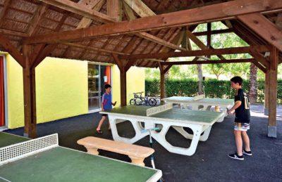 Camping Club l'Air Marin Table Tennis