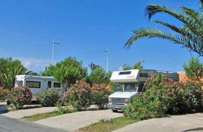 Camping Club Mar Estang Motorhome Pitch