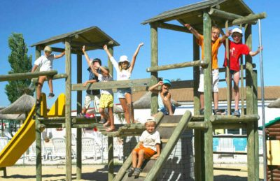 Camping Crin Blanc Play Area