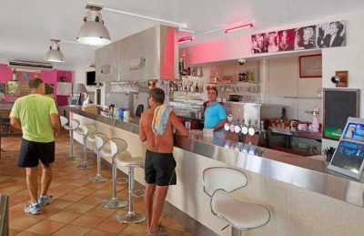 Camping de Saint Aygulf Plage Bar
