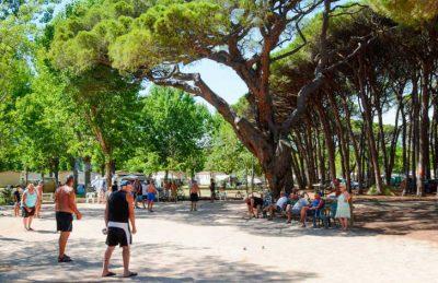 Camping de Saint Aygulf Plage Boules