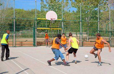 Camping de Saint Aygulf Plage Football