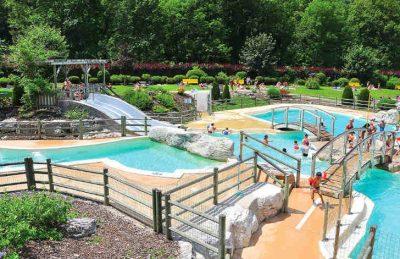 Camping Domaine de Chalain  Swimming Pool