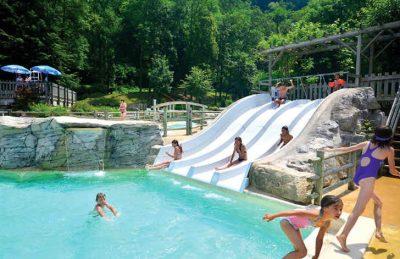 Camping Domaine de Chalain Pool Slide