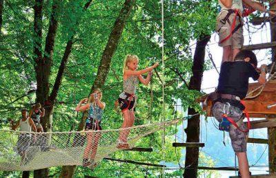 Camping Domaine de Chalain Tree Adventure