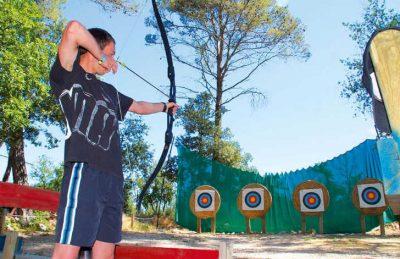 Camping Domaine de la Sainte Baume Archery