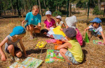 Camping Domaine de la Sainte Baume Kids Activities