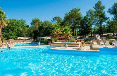 Camping Domaine de la Sainte Baume Pool