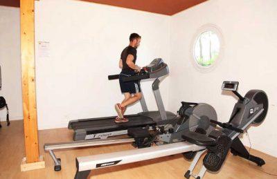 Camping Domaine de Leveno Gym Fitness