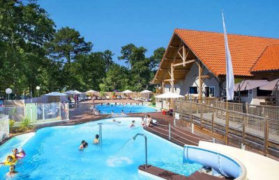 Camping Domaine de Soulac Swimming Pool Complex