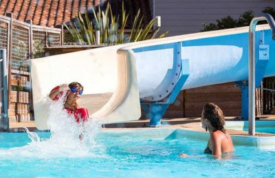 Camping Domaine de Soulac Swimming Pool Slide