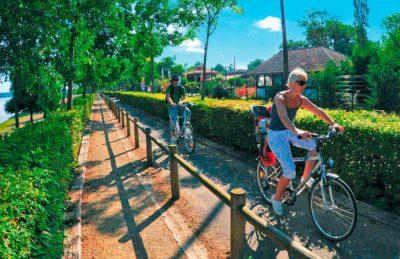 Camping Domaine d'Eurolac Cycling