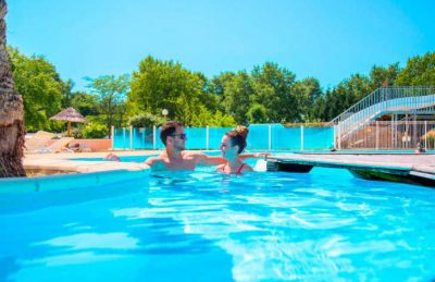 Camping Domaine d'Eurolac Swimming Pool