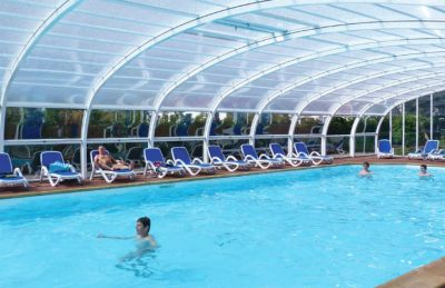 Camping du Golf Covered Swimming Pool