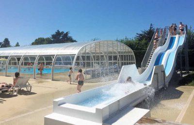 Camping du Golf Swimming Pool Slides