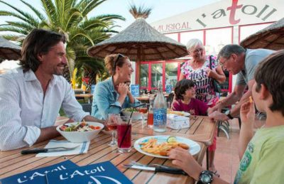Camping La Carabasse Restaurant