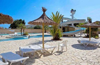 Camping La Coste Rouge Swimming Pool Slides