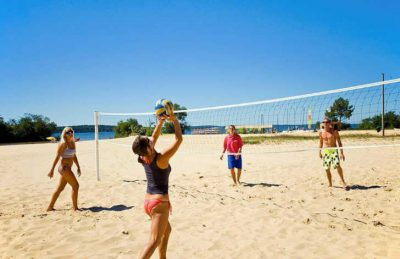 Camping la Reserve Beach Volleyball