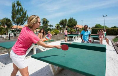 Camping la Reserve Table Tennis