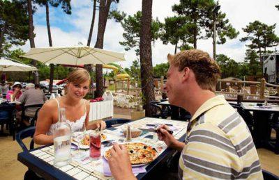 Camping le Bonne Anse Restaurant
