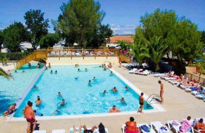 Camping Le Cap Agathois Swimming Pool