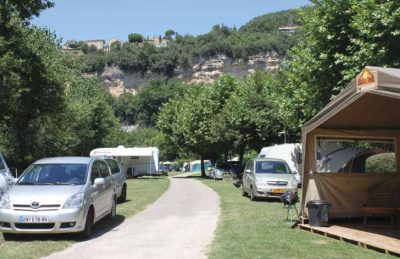 Camping Pitch Area