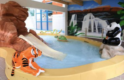 Camping le Chaponnet Children's Swimming Pool