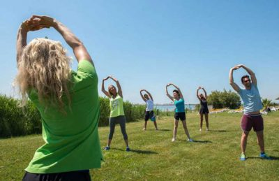 Camping Le Lac des Reves Fitness Classes