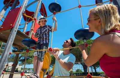 Camping Le Lac des Reves Play Area