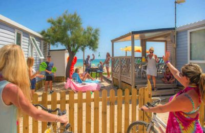 Camping le Palavas Accommodation Beach