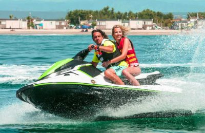 Camping le Palavas Water Activities Jetski
